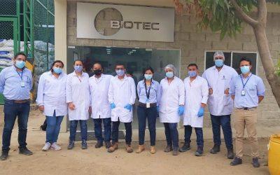 Empezamos los trabajos de control para combatir enfermedades en cultivo de banano junto a Laboratorios Biotec