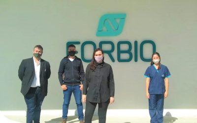 Visita de la Secretaria de Ciencia, Tecnología e Innovación a Planta Argentina