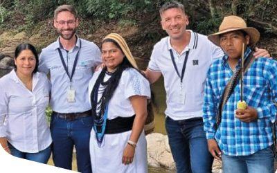 Estuvimos de visita con la Comunidad Arhuaca en la Sierra Nevada de Santa Marta, al norte de Colombia.